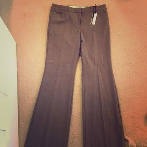 New Express Taupe Work Pant with Flare
